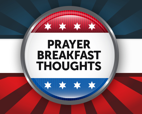 Prayer Breakfast Thoughts image